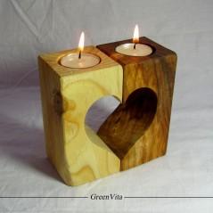 جاشمعی چوبی آرورا